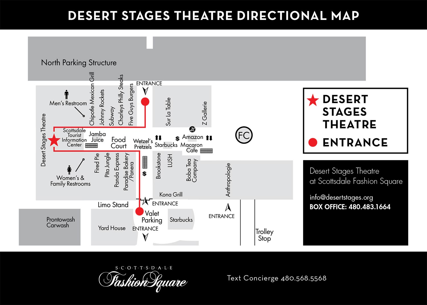Map-Fashion-Square - Desert Stages Theatre